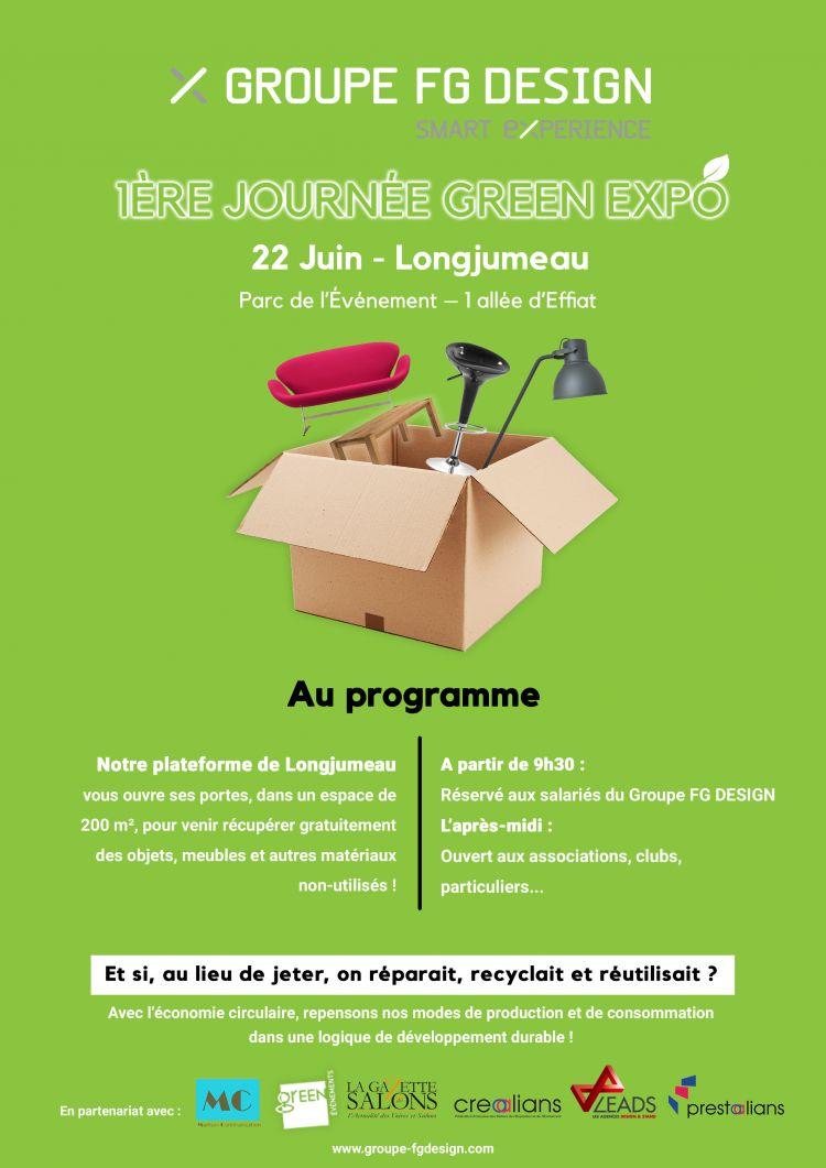 22 juin : lancement de la première journée green de l'exposition