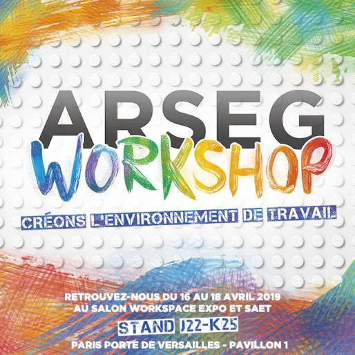 Couverture Live du salon Workspace Expo 2019 pour l'ARSEG