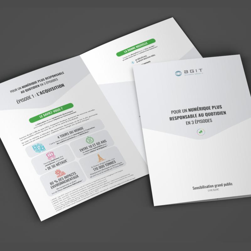 Livre blanc du Numérique Responsable avec l'Alliance Green IT