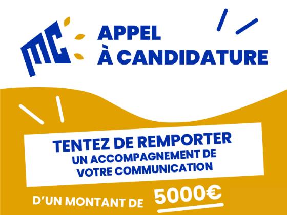 [Appel à candidatures] Candidatez pour la création de vos outils de communication responsable !